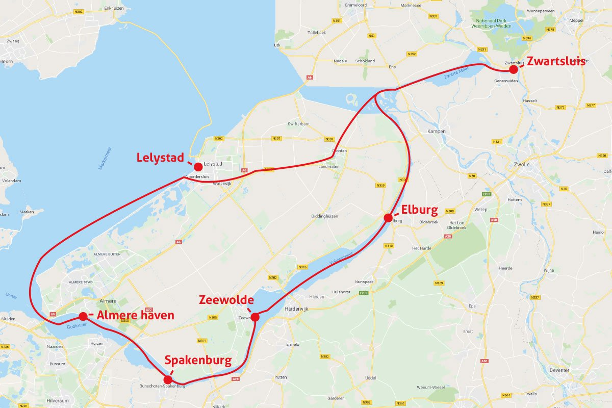 Around Flevoland